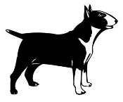 Bull Terrier v3 Decal Sticker