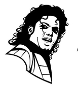 Michael Jackson v5 Decal Sticker