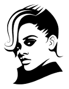 Rhianna Decal Sticker