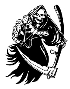 Grim Reaper v5 Decal Sticker