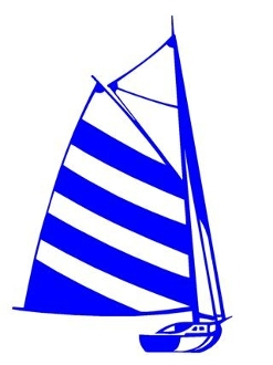 Sailboat 8 Decal Sticker