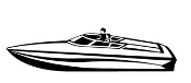Speedboat 3 Decal Sticker