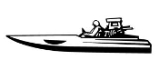 Speedboat 4 Decal Sticker
