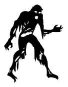Zombie v11 Decal Sticker