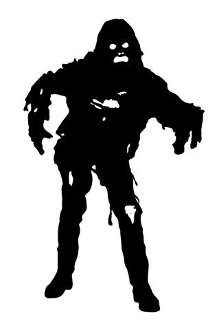 Zombie v15 Decal Sticker