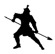 Medieval Silhouette v4 Decal Sticker