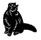 Cat v13 Decal Sticker