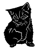 Kitten v4 Decal Sticker