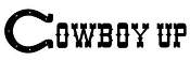 Cowboy Up v2 Decal Sticker