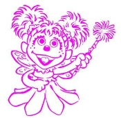 Abby Cadabby Decal Sticker