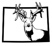 Colorado Deer Hunting v2 Decal Sticker