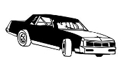 Stock Car 7 Decal Sticker