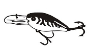 Fishing Lure v5 Decal Sticker