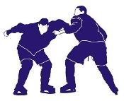 Hockey Fight Decal Sticker