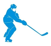Hockey Player v12 Decal Sticker
