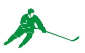 Hockey Player v14 Decal Sticker