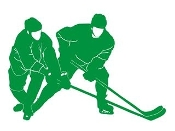 Hockey Players v6 Decal Sticker