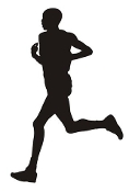 Runner Silhouette v4 Decal Sticker