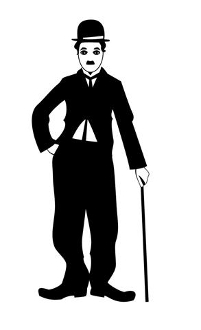 Charlie Chaplin v2 Decal Sticker