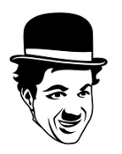 Charlie Chaplin v3 Decal Sticker