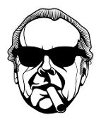 Jack Nicholson v2 Decal Sticker