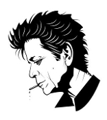 Lou Reed Decal Sticker