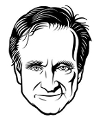 Robin Williams Decal Sticker