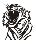 Tiger Head v6 Decal Sticker