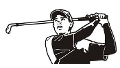 Tiger Woods Decal Sticker