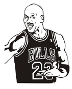 Michael Jordan Decal Sticker