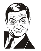 Mr Bean Decal Sticker