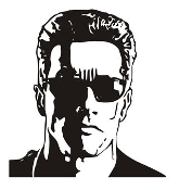 Terminator v2 Decal Sticker