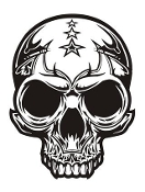Skull v16 Decal Sticker