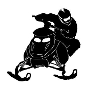 Snowmobile v6 Decal Sticker
