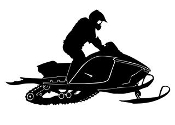Snowmobile v7 Decal Sticker