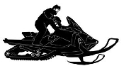 Snowmobile v12 Decal Sticker