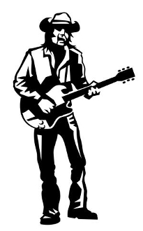 Guitarist v11 Decal Sticker
