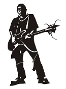 Guitarist v12 Decal Sticker