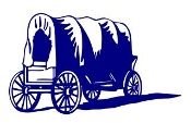 Covered Wagon v2 Decal Sticker