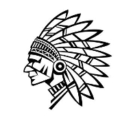 Indian Chief v9 Decal Sticker