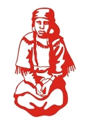 Native American Woman Decal Sticker