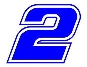 Keselowski 2 Decal Sticker