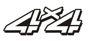 4x4 Design v7 Decal Sticker