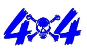 4x4 Design v8 Decal Sticker