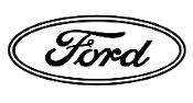 Ford Oval Outline v2 Decal Sticker