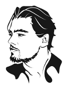 Leonardo Dicaprio Decal Sticker