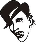 Marilyn Manson Decal Sticker