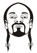 Snoop Dog Decal Sticker