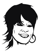 Whitney Houston Decal Sticker