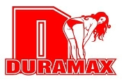 Duramax Diesel Girl v5 Decal Sticker